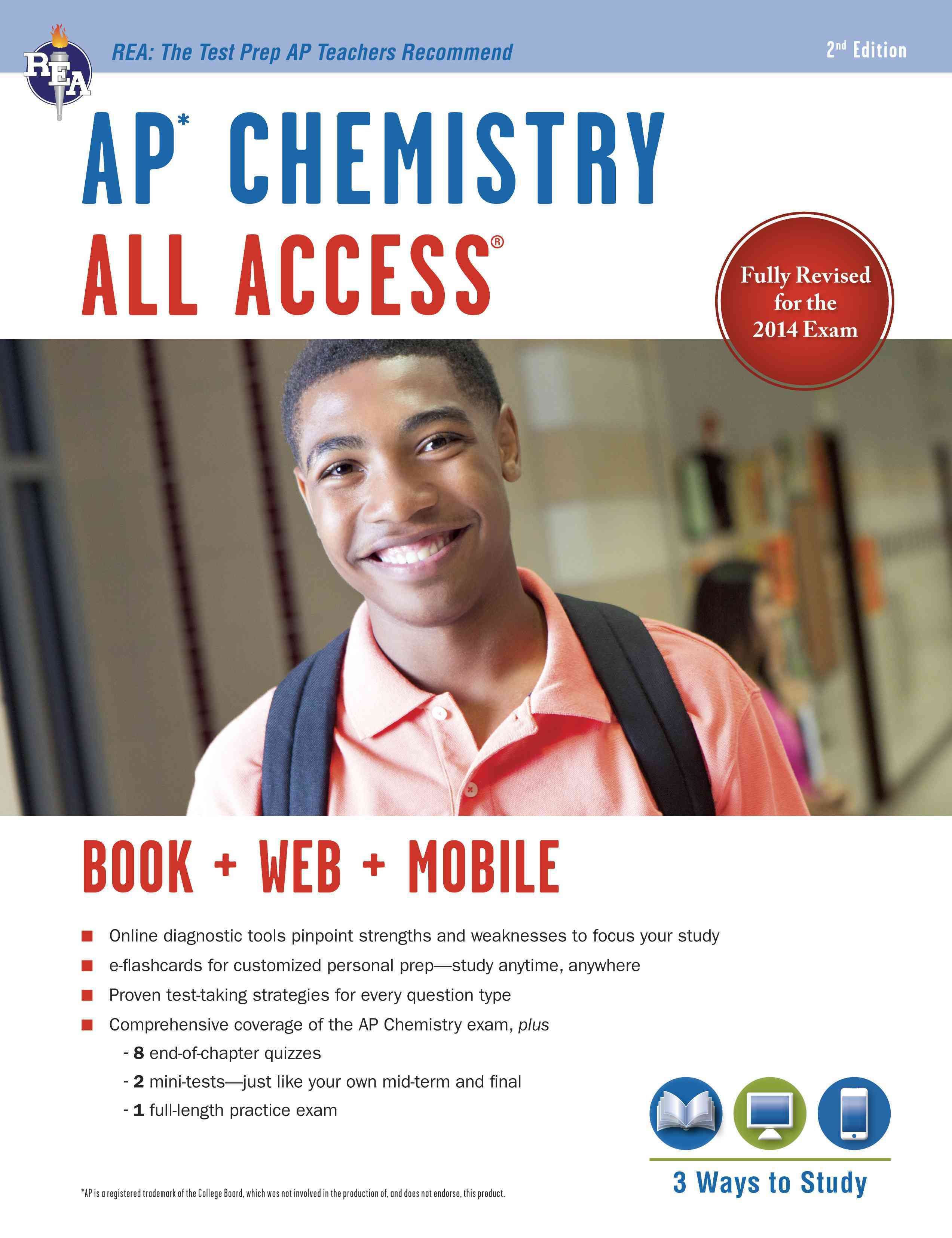 Ap Chemistry All Access By Reel, Kevin/ Wood, Derrick C./ Best, Scott A.